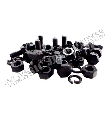 Kit with bolts washers and nuts body handles WILLYS MB EC-script