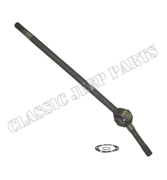 """Drive shaft front left 34 7/16"""" SPICER-type all Dana 25/27 1941-1971"""