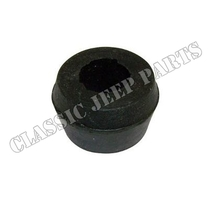 Rubber bushing shock absorber