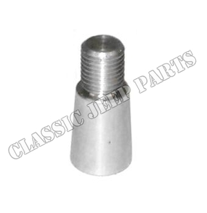 Flywheel to crankshaft dowel conical early