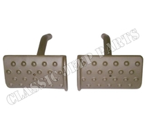 Clutch and brake pedals pair cast square WILLYS MA