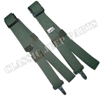 Safety strap set pair