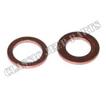Master brake cylinder copper gasket kit