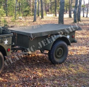 Canvas kapell WILLYS MBT BANTAM T3 trailer