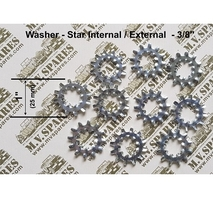 Kit with 10 bonding star washers 3/8""