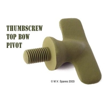 Thumbscrew top bow pivot 5/16""