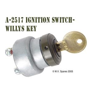 Tändningslås med nyckel WILLYS MB