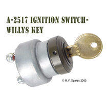 Ignition switch with key WILLYS MB