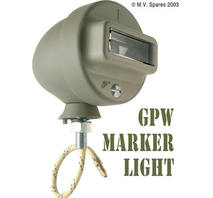 Marker light assembly left GPW F-script