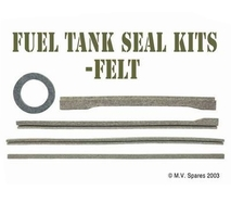 Fuel tank felt kit FORD GPW