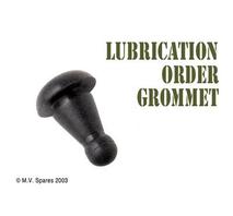 Rubber grommet lubrication order envelope