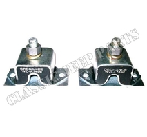 Front engine rubber mount pair