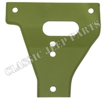 Bumper gusset upper left WILLYS MB