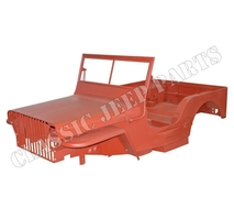 WILLYS MB body kit version A SLATGRILLE with WILLYS  script November 1941-February 1942
