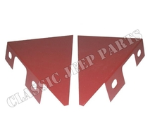 Repair panels front fender lower brackets pair