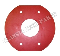 Machine gun mounting plate WILLYS MB