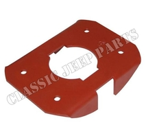Machine gun mounting plate FORD GPW F-script