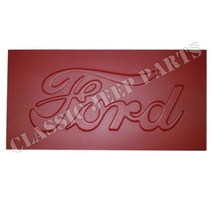 Stamped FORD patch for tail panel