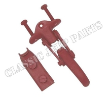 Windshield clamp and hook