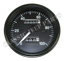Hastighetsmätare standard kilometer