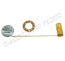 Fuel tank sender with gasket 6 and 12 volt