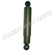 Shock absorber with rubber bushings rear