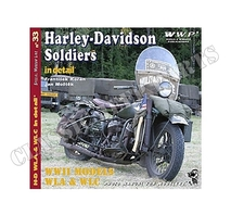 H.D. WWII Motorcycles In Detail 47 pages