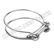 Air filter rubber hose clamp