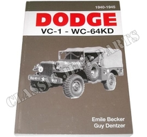 DODGE VC-1-WC-64KD 1940-1945 Emile Becker 320 pages