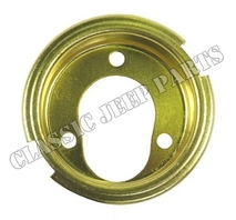 Gas tank well drain hole neck brass