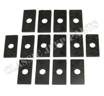 Body to frame rubber pad set 14 pcs