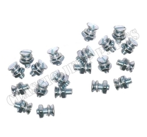 Screws washers and jam nuts 10 footman loops