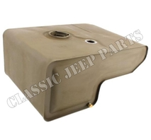 Fuel tank for large cap with extension late FORD GPW F-script
