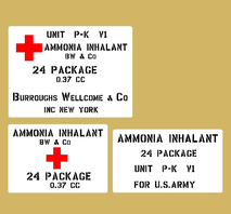 Ammoniak Inhalator US Army