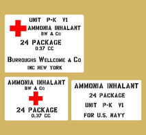Ammoniak Inhalator US Navy