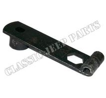 Spring shackle bolt lock helper spring