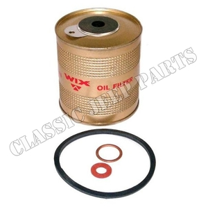 Oil filter element with gaskets CJ2A/3A/3B/5/6