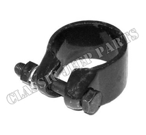 Steering column clamp lower
