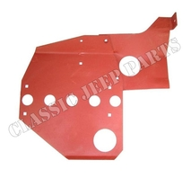 Skid plate 2 piece WILLYS MB