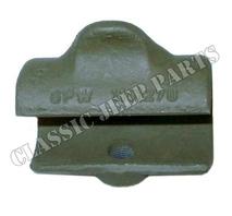 "Top bow slide cast bracket3/8"" FORD GPW"