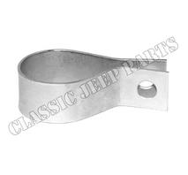 Oil filler tube clamp