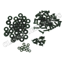 Set screws and washers for canvas seat cushions
