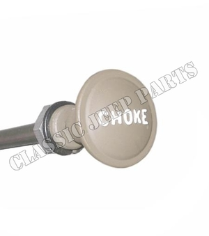 Metal choke knob with raised letters including wire and for Raised metal letters
