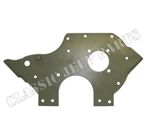Engine front plate chain drive engine
