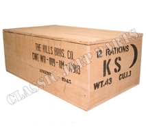 Wooden box Ration K