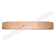 Wood filler front bumper WILLYS MB